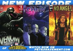 It's Pete and Ramon back for two weeks worth of comic reviews! The CW crossover just finished and the boys are gonna' tell you all about it (with as few spoilers as possible) The  rest of our comic book TV shows are drawing closer to their winter break and we'll bring you up to speed. Meanwhile on the printed page John Layman's Chew finishes its epic 60-issue run. And what a series it was! A Must-Read if ever the boys have read one! Marvel' NOW's new Venom book is a surprise hit along with…
