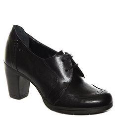 #Scarpa francesina #Khrio in pelle nera e con tacco medio http://www.tentazioneshop.it/scarpe-khrio/scarpa-francesina-24906m-nero-khrio.html