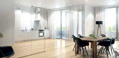 Инновация внутреннего пространства: система раздвижных дверей   #wb365