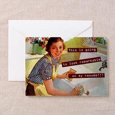 Funny Vintage Greeting Card