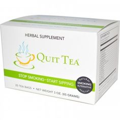 Need help #quitting #smoking? Try this all #natural #Quit #Tea for #FREE when you claim your free #sample today! #health #freebie