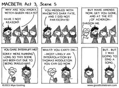 Macbeth, part 20 — Good Tickle Brain Best Black Friday Sales, Gcse English Literature, Ap Language And Composition, Witch Queen, English Classroom, Stick Figures, Teaching English, Bumper Stickers, Organisation