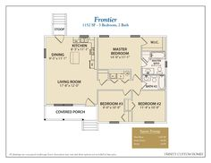 Take a look at all of Trinity Custom Homes Georgia floor plans here! We have a lot to offer, so contact us today for more information. Country House Plans, Small House Plans, House Floor Plans, Country Life, Garage Apartments, Small Apartments, Dream Home Design, House Design, Barn With Living Quarters