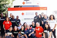 Herbalife Nutrition Doctor Is a Supporter of American Red Cross