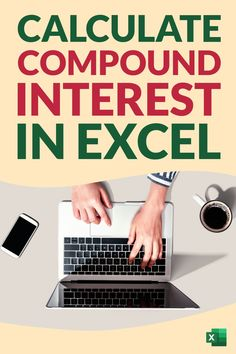 Learn how to quickly calculate compound interest in Excel. I'll show you a simple formula that you can use to calculate compound interest monthly, quarterly, yearly. I will also show you how to use the FV function in Excel to calculate the compound interest. And also created a simple Compound Interest Calculator Excel template that you can download for free Computer Help, Computer Tips, Learning Skills, Skills To Learn, Microsoft Excel Formulas, Interest Calculator, Pivot Table, Keyboard Shortcuts, New Things To Learn