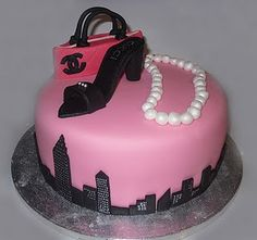 Sex & the city Cake.