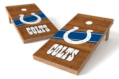 Indianapolis Colts Cornhole Board Set - Logo http://prolinetailgating.com/