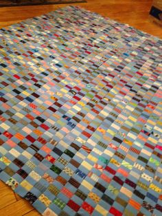 klein meisje quilts: Chinese Coins, process