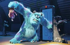 Monsters Inc. - Scared Sulley - Walt Disney Storybooks - World-Wide-Art.com