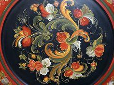 rosemaling | Gallery of My Rosemaling Work