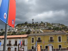 The Old Quarter in Quito, Ecuador. #VolunteerInQuito