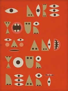 Typographic Body Parts by ryan feerer, via Flickr