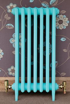 Inspiring & Unique Paint Colors for Cast Iron Radiators - Everyday Old House Contemporary Radiators, Traditional Radiators, Painted Radiator, Cast Iron Radiators, Column Radiators, Sea Glass Colors, Ral Colours, Colour Schemes, Art Projects