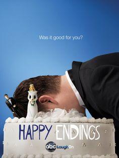 Happy Endings TV Poster