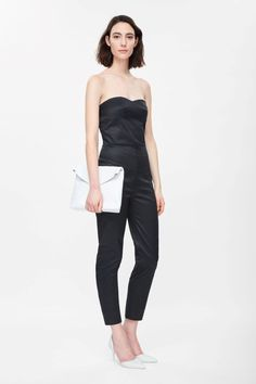 COS | Strapless jumpsuit