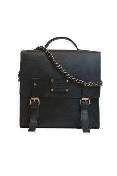 Frankie Fierce Eco Black W/Chain O My Bag