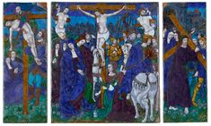 Triptych: The Way to Calvary; The Crucifixion; The Desposition