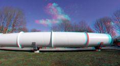 https://flic.kr/p/24JtQEn | HARDT Hyperloop TU Delft 3D GoPro | anaglyph stereo red/cyan tranportation Tube  Elon Musk  Tim Houter