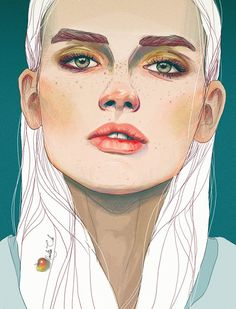 Darya by Nadiia Cherkasova