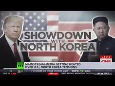 'We are sending an armada' MSM getting heated over US, North Korea tensions - YouTube