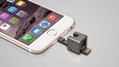 デジタルガジェット備忘録 1インチ立方のキューブ型のスマフォ向けデバイス「WonderCube」後は値段しだいかな?