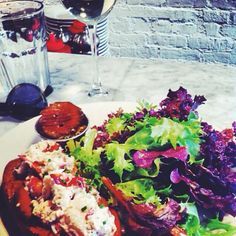 You don't have to drive all the way up to Maine to try the best lobster roll. It's right here - on Lafayette and Kenmare. Walk in, take a seat at the bar (there is no tables anyway) and get ready to indulge. Generous portion of fresh lobster in a juiciest sauce on a just-from-the oven-ban with salad and sweet pickles - it's a sin, but a good one.