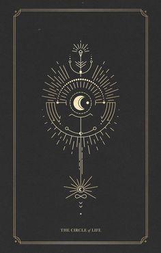 The Totem of the Circle of Life – – taurus constellation tattoo Tatoo Art, Body Art Tattoos, Constellation Tattoos, Circle Of Life, Circle Circle, Compass Tattoo, Line Art, Tattoo Designs, Illustrations