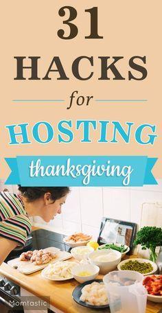 31 Lifehacks for Thanksgiving Entertaining