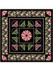 Pieced Lap Quilt & Throw Patterns - Central Park Quilt Pattern