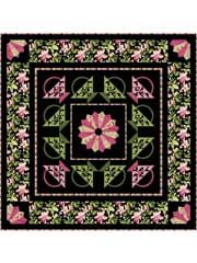 Pieced Lap Quilt & Throw Patterns - Central Park Quilt Pattern