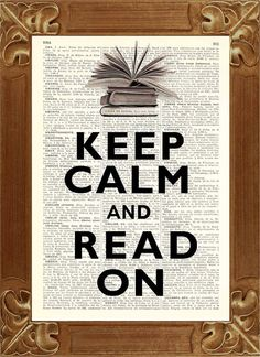 Keep calm and read on!