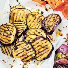 Aubergine met knoflook lekker voor op de barbecue! #barbecue #grillen #bbq