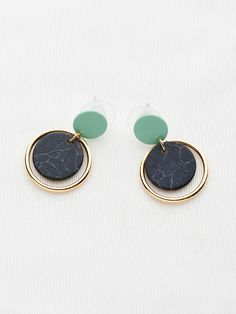 Shop Marble Effect Hoop Drop Earrings online. SheIn offers Marble Effect Hoop Drop Earrings & more to fit your fashionable needs.