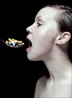Anti smoking / #advertising #smoking http://on.fb.me/IDMQk9 | See more about Anti Smoking, Smoking and Advertising.