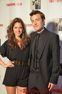 Brittany Underwood & Bryan James at the YOUTHFUL DAZE: THE SERIES Season 3 Launch Party #YouthfulDaze #Videos #Photos  http://www.redcarpetreporttv.com/2014/08/28/we-chat-with-the-cast-of-youthful-daze-the-series-at-the-season-3-launch-party-youthfuldaze/