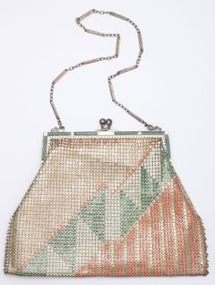 Paul Poiret 1920's Purses for Whiting and Davis  