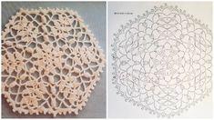 Crochet Gratis, Crochet Motif, Doilies, Youtube, Stitch, Rugs, Knitting, Triangles, Crochet Ideas