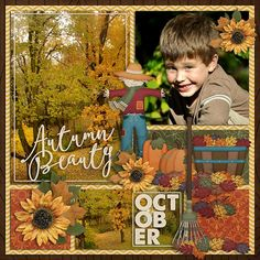 OCTOBER layout