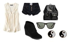 """eh"" by hamsterlover447 ❤ liked on Polyvore featuring American Eagle Outfitters, Arizona, Coach, Ray-Ban and Accessorize"