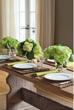 rustic table setting via Barefoot Contessa