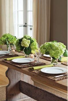 rustic table setting via Barefoot Contessa