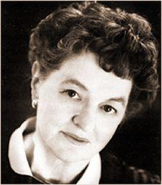 P.L.(Pamela Lyndon) Travers...Australian author of Mary Poppins