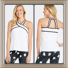 ✨Host Pick 7/12!!!✨ Chicago Top from Fabletics ✨Brand NWT!!!✨  Bring the heat to the dance floor in a sweat-regulating performance top with a fashion-forward halter strap detail. Keep everything in place with a built-in shelf bra with removable cups. Fabletics Tops Tank Tops
