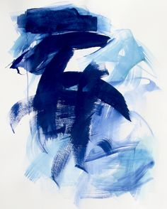 https://flic.kr/p/22QoMXs | Sea / Sapphire Water | Abstract Water / Fine Art Painting by Suz