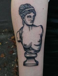 Bust tattoo