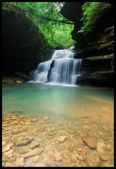 Mize Mill Falls, Sipsey Wilderness and Bankhead National Forest, Alabama