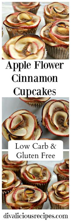 These apple roses cinnamon cupcakes look elegant and complicated but actually are easy to make.