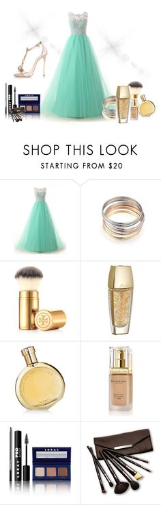 """""""Untitled #6"""" by sabiha-kahrimanovic ❤ liked on Polyvore featuring Tory Burch, Guerlain, Hermès, Elizabeth Arden, LORAC, Borghese, Dsquared2, women's clothing, women and female"""