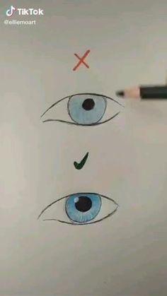 Easy Doodles Drawings, Art Drawings Sketches Simple, Pencil Art Drawings, Moon Drawing, Easy Eye Drawing, Art Drawings Beautiful, Diy Canvas Art, Doodle Art, Art Tutorials