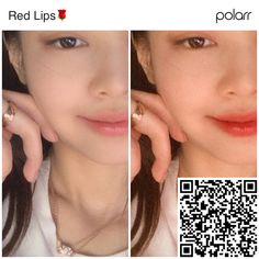 #polarrcode #polarr polar code red lips Blue Aesthetic Pastel, Red Aesthetic, Free Photo Filters, Foto Editing, Polaroid Picture Frame, Red Filter, Aesthetic Filter, Photography Filters, Lightroom Tutorial